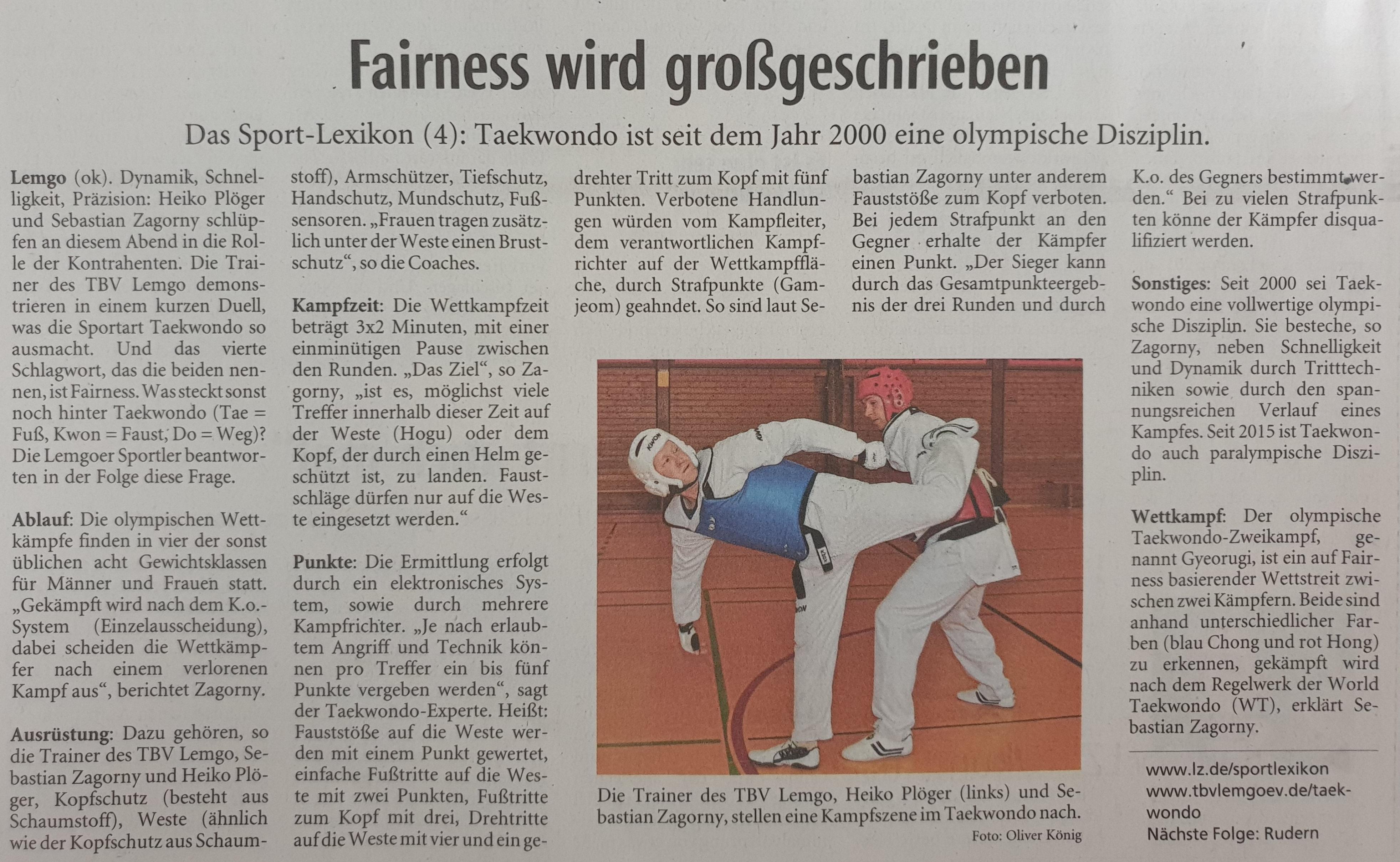 Taekwondo LZ 27.07.2021